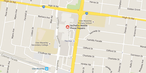 OnTheGo Repairs Glen Waverley Shop